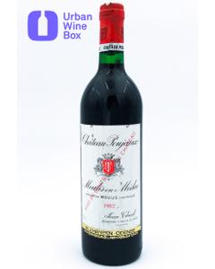 Poujeaux 1982 750 ml (Standard)