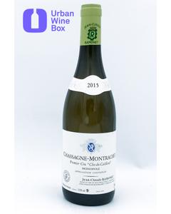 """2015 Chassagne-Montrachet 1er Cru """"Clos du Cailleret"""" Domaine Jean-Claude Ramonet"""