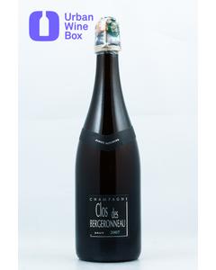 """2007 Vintage 1er Cru """"Pinot Meunier"""" Clos des Bergeronneau"""
