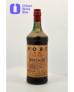 """Ruby Vintage Port """"Port of the 1952 Vintage"""" 1952 750 ml (Standard)"""